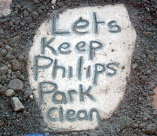 Lets keep Philips Park clean